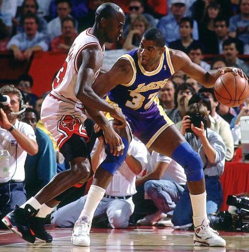 2029aa64c0b NBASpirit -Magic Johnson vs Michael Jordan